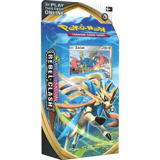 The Pokémon Company international POK TCG SWORD & SHIELD REBEL CLASH TD - ZACIAN