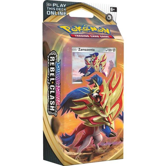 The Pokémon Company international POK TCG SWORD & SHIELD REBEL CLASH TD - ZAMAZENTA