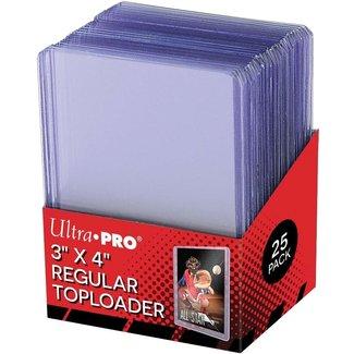Ultra Pro TOPLOADERS 3X4 CLEAR REGULAR C40