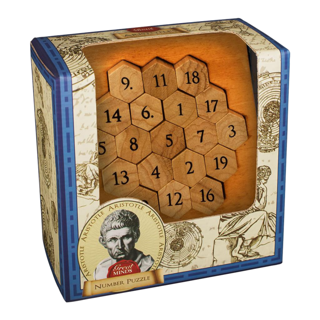Professor Puzzle GREAT MINDS ARISTOTLES NUMBER PUZZLE
