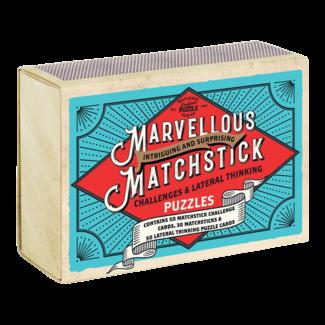 Professor Puzzle MARVELLOUS MATCHSTICK CHALLENGE