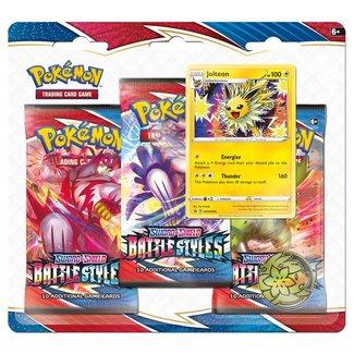 The Pokémon Company international POKEMON TCG SWORD & SHIELD BATTLE STYLES 3BB - Jolteon