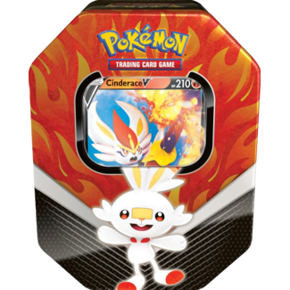 The Pokémon Company international POK TCG SPRING TIN 2020 - GALAR PARTNERS TIN - Cinderace