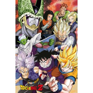 DRAGON BALL Z CELL SAGA MAXI POSTER
