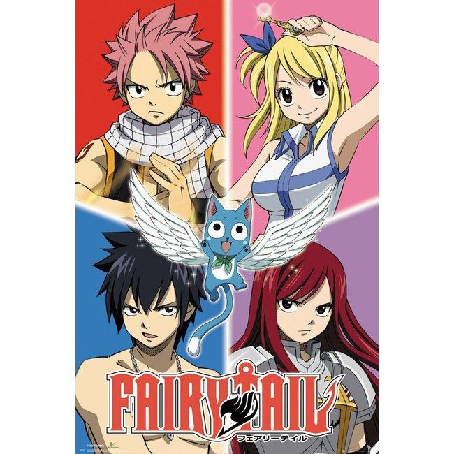 Fairy Tail - Quad