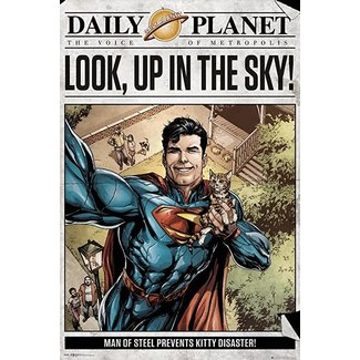 SUPERMAN DAILY PLANET MAXI POSTER