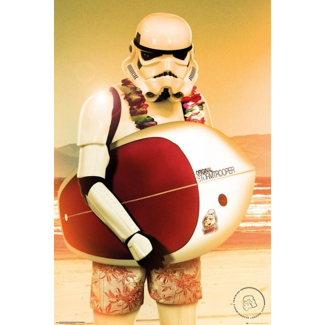 STORMTROOPER SURF MAXI POSTER