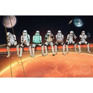 Original Stormtrooper on girders