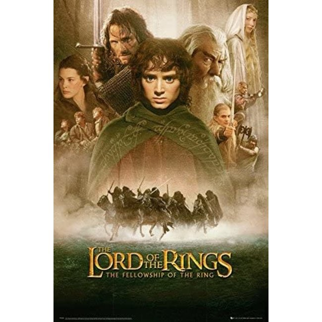 LORD OF THE RINGS FELLOWSHIP OF THE RING MAXI POSTER