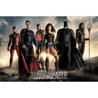 JUSTICE LEAGUE CHARACTERS MAXI POSTER