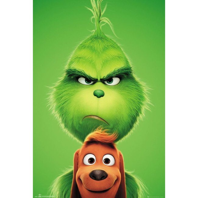THE GRINCH GRINCH AND MAX MAXI POSTER