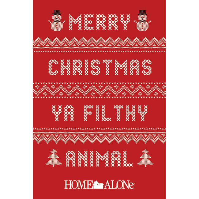 Home Alone (Merry Christmas Ya Filthy Animal Jumper)