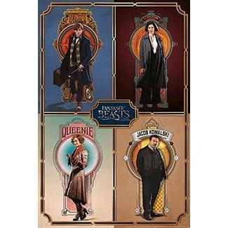 Fantastic Beasts (Framed Cast)