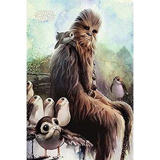 Star Wars: The Last Jedi (Chewbacca & Porgs)