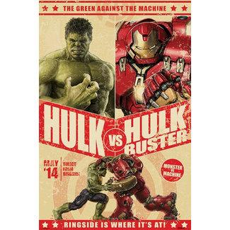 Avengers Age Of Ultron (Hulk v Hulkbuster)