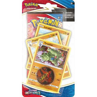 The Pokémon Company international POK TCG SWORD & SHIELD BATTLE STYLES PREMIUM CHECK - TYRANITAR