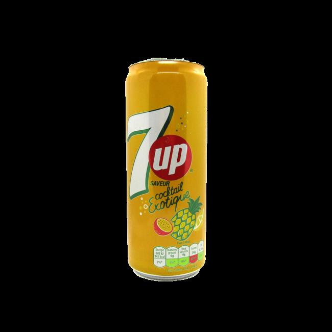 7Up Cocktail blik 0,33 l. (import)