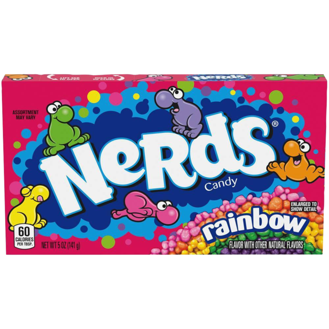 Nerds box Rainbow 141,7 gr.