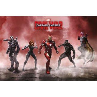Civil War - Team Iron Man