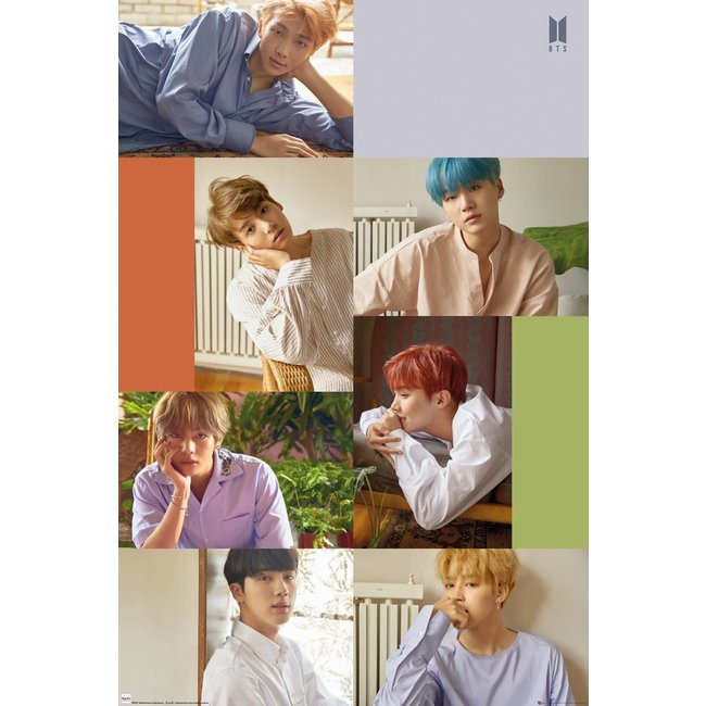BTS - Group Collage