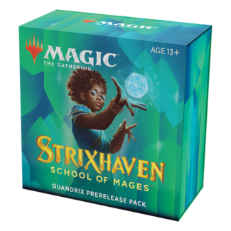 Wizards Of The Coast MTG STX Strixhaven Pre Release Pack - Quandrix