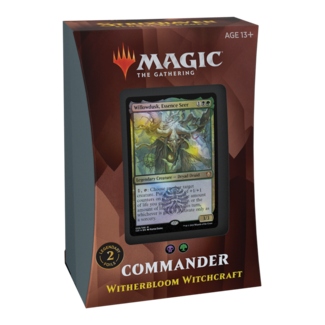 Wizards Of The Coast MTG STX STRIXHAVEN COMMANDER DECK - Witherbloom Witchcraft