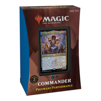 Wizards Of The Coast MTG STX STRIXHAVEN COMMANDER DECK - Prismari Performance