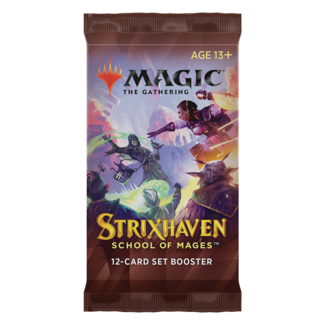 Wizards Of The Coast MTG STX STRIXHAVEN SET BOOSTER