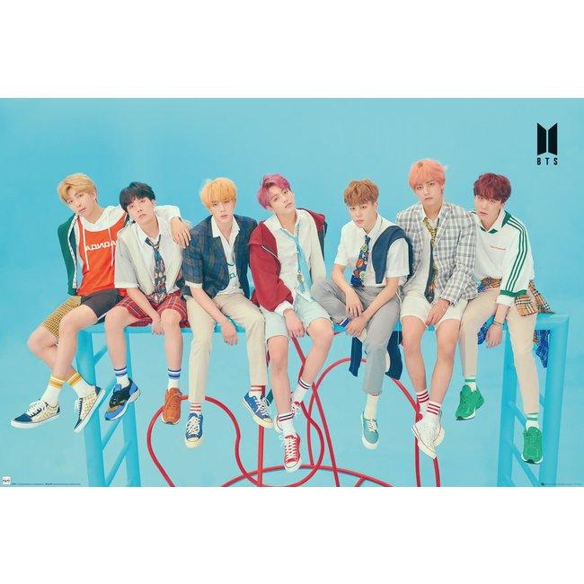 BTS - Group Blue