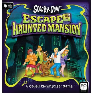 usaopoly Scooby-Doo Board Game Escape from the Haunted Mansion - A Coded Chronicles™ Game *English Version*