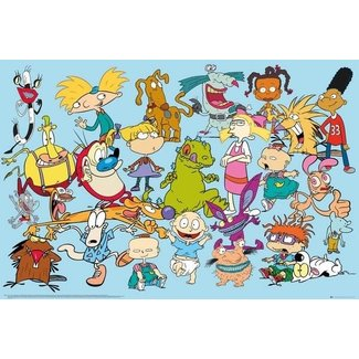 NICKELODEON CHARACTERS MAXI POSTER