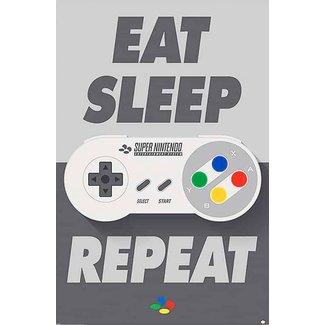Nintendo (Eat Sleep SNES Repeat)
