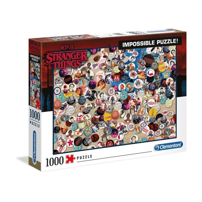 Clementoni Stranger Things Impossible Puzzle Buttons