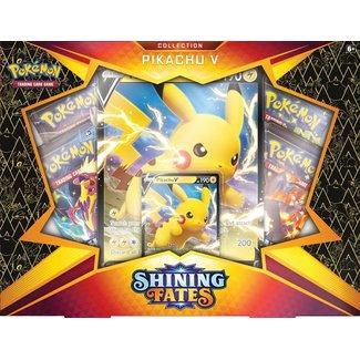 The Pokémon Company international SHINING FATES PIKACHU V BOX