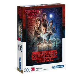 Clementoni Stranger Things Jigsaw Season 1 (500 pieces)