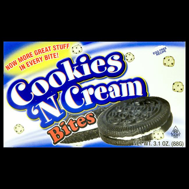 CookieDough Cookies 'n Cream Bites 88 gr.