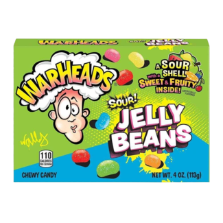 Warheads Sour Jelly Beans 113 gr.