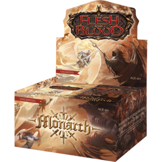 Legend Story Studios FLESH AND BLOOD MONARCH UNLIMITED BOOSTER DISPLAY