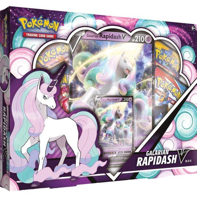 The Pokémon Company international GALARIAN RAPIDASH V BOX