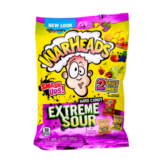 Warheads Extreme Sour Smash-Up 56 gr.