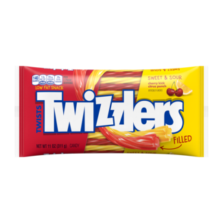 Twizzlers Sweet & Sour filled Twists Large