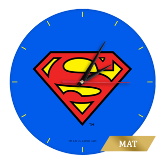 Wall Clock Superman