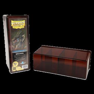 Dragon Shield STORAGE BOX DRAGON SHIELD 4 COMPART. - BROWN