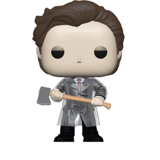 Funko Pop! Movies: American Psycho - Patrick with Axe