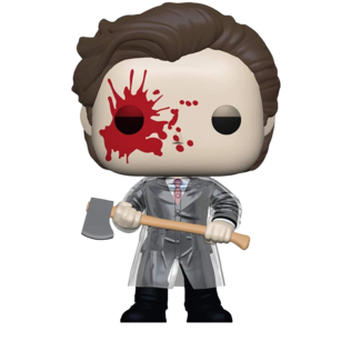 Funko Pop! Movies: American Psycho - Patrick with Axe Limitede Chase Edition