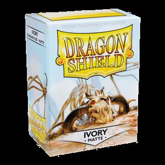 Dragon Shield SLEEVES DRAGON SHIELD MATTE - IVORY (100CT)