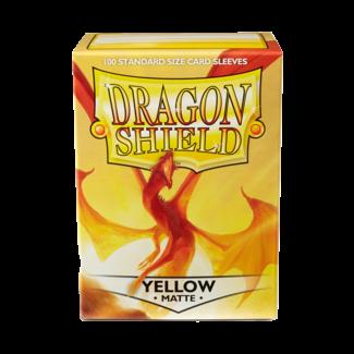 Dragon Shield SLEEVES DRAGON SHIELD MATTE - YELLOW (100CT)
