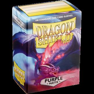 Dragon Shield SLEEVES DRAGON SHIELD MATTE - PURPLE (100CT)