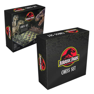 The Noble Collection Jurassic Park Chess Set Dinosaurs