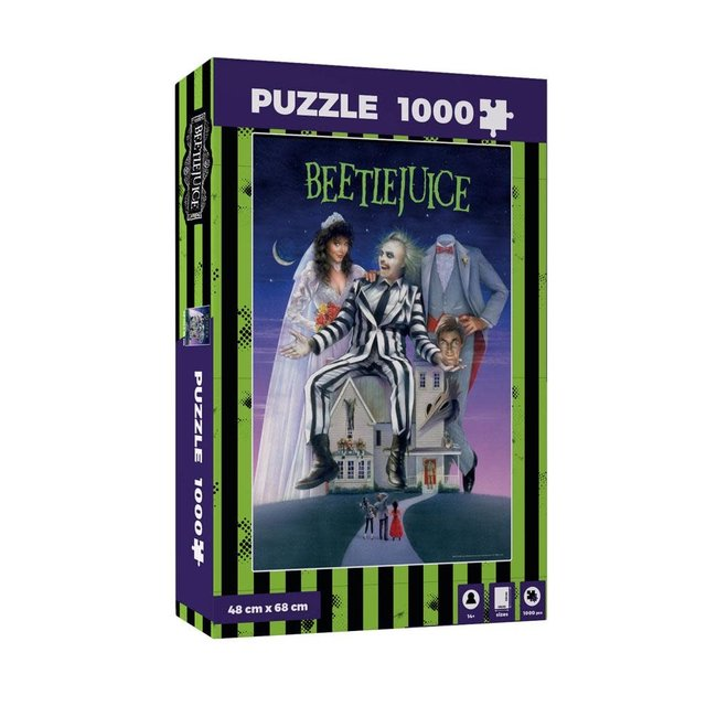 SD Toys Beetlejuice Jigsaw Puzzle Movie Poster